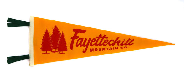 Fayettechill Pennant Orange