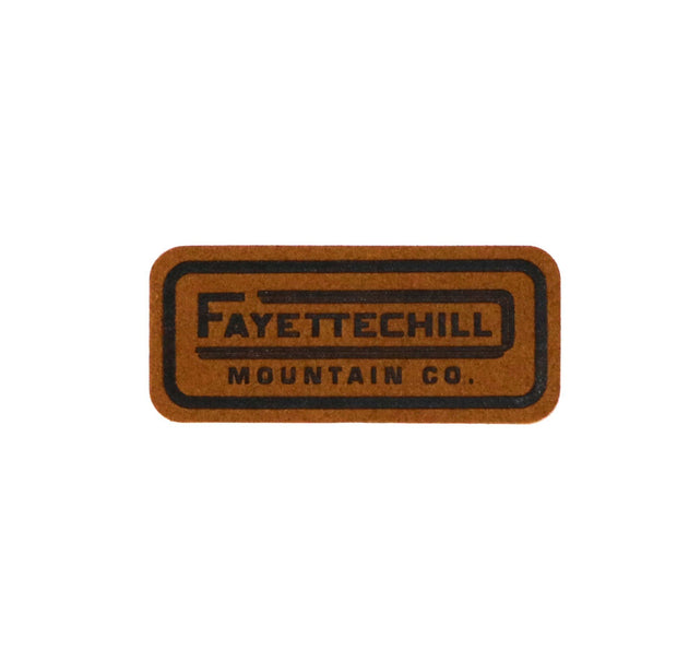 Tiller Patch Accessories FAY Brown OS