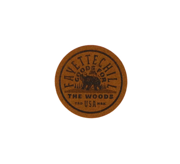 River Cub Patch Accessories FAY Brown OS