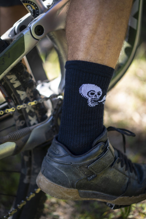 Ride Mtns Wool Sock Footwear FAY
