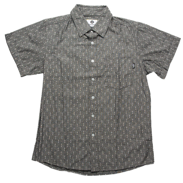Andre Men's Button Up Fayettechill Clothing Company Black S
