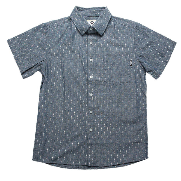 Andre Men's Button Up Fayettechill Clothing Company Blue S