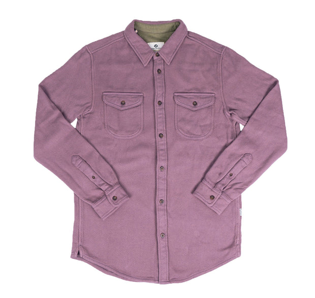 Orcas Flannel Men's Button Up FAY Wistful Mauve XS