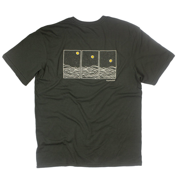 Phases Unisex T-Shirt FAY Black Ink XS