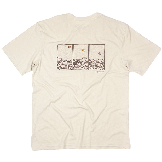 Phases Unisex T-Shirt FAY French Vanilla XS