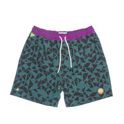 Davey Men's Shorts FAY Green Geo XS
