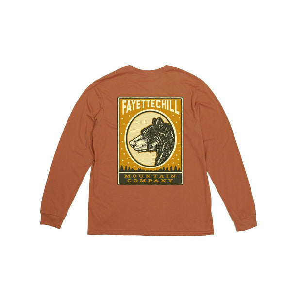 Anima Long Sleeve Unisex Long Sleeve T-Shirt Fayettechill Clothing Company Canyon Brown XS