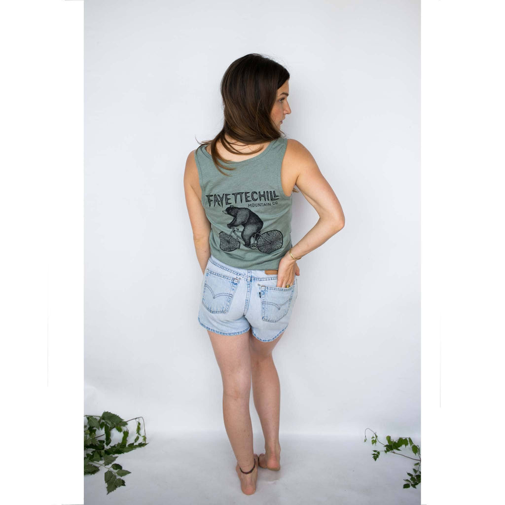 Bicycle Bear Tank Top