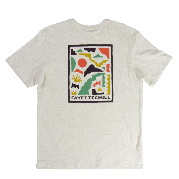Abstract Ozarks Unisex T-Shirt - SS19 FAY Ash Heather XS