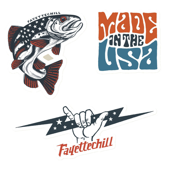 Americana Sticker Pack
