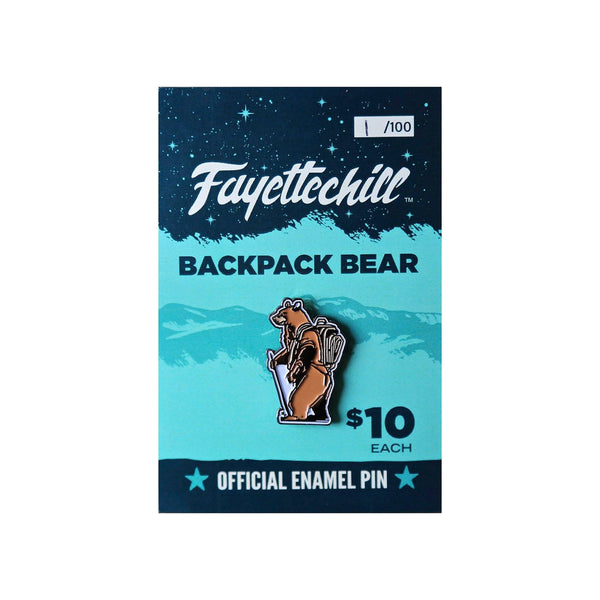 Pin Backpack Bear