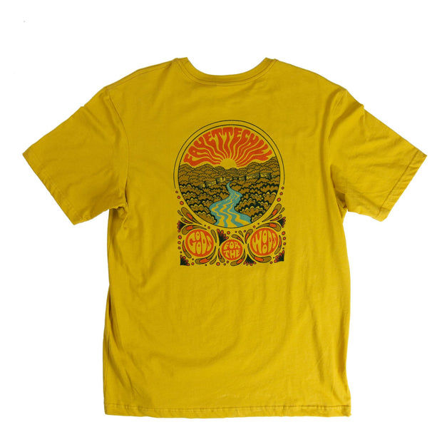 Steel Creek Unisex T-Shirt - SS19 FAY Golden Amber XS