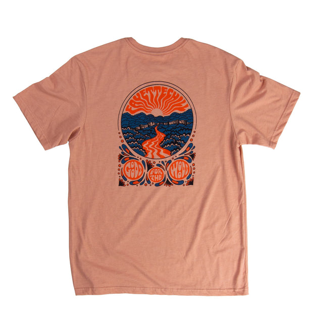 Steel Creek Unisex T-Shirt - SS19 FAY Rose Dawn XS
