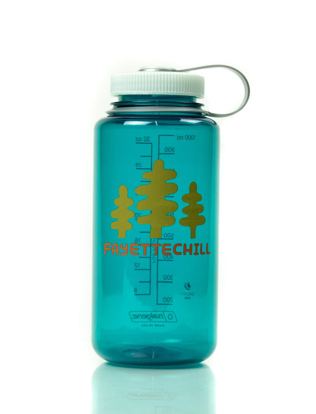 Tres Pinon Nalgene Wide Mouth 32oz Cups/Water Bottle/etc. FAY Trout Green OS
