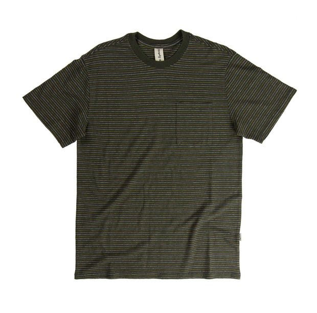 Nelson Hemp Unisex Short Sleeve T-Shirt - SS19 FAY Black Ink Stripe XS