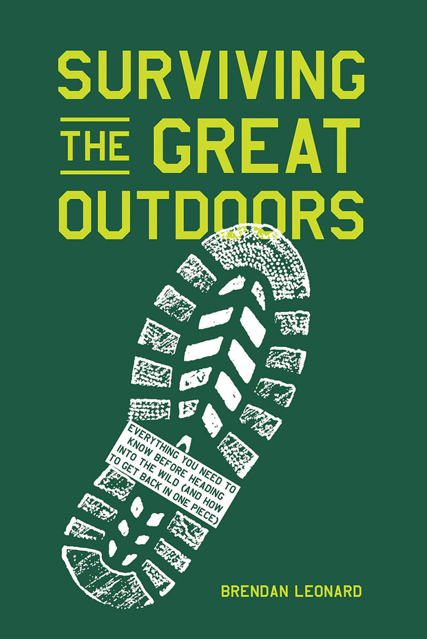 Surviving The Great Outdoors Book Book FAY