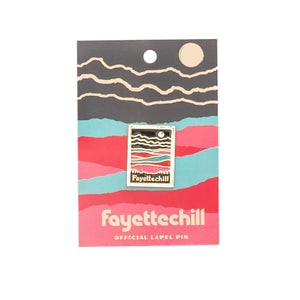 Paper Mountain Enamel Pin
