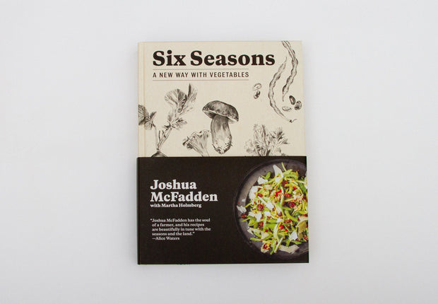 Six Seasons: A New Way with Vegetables Book Accessories FAY