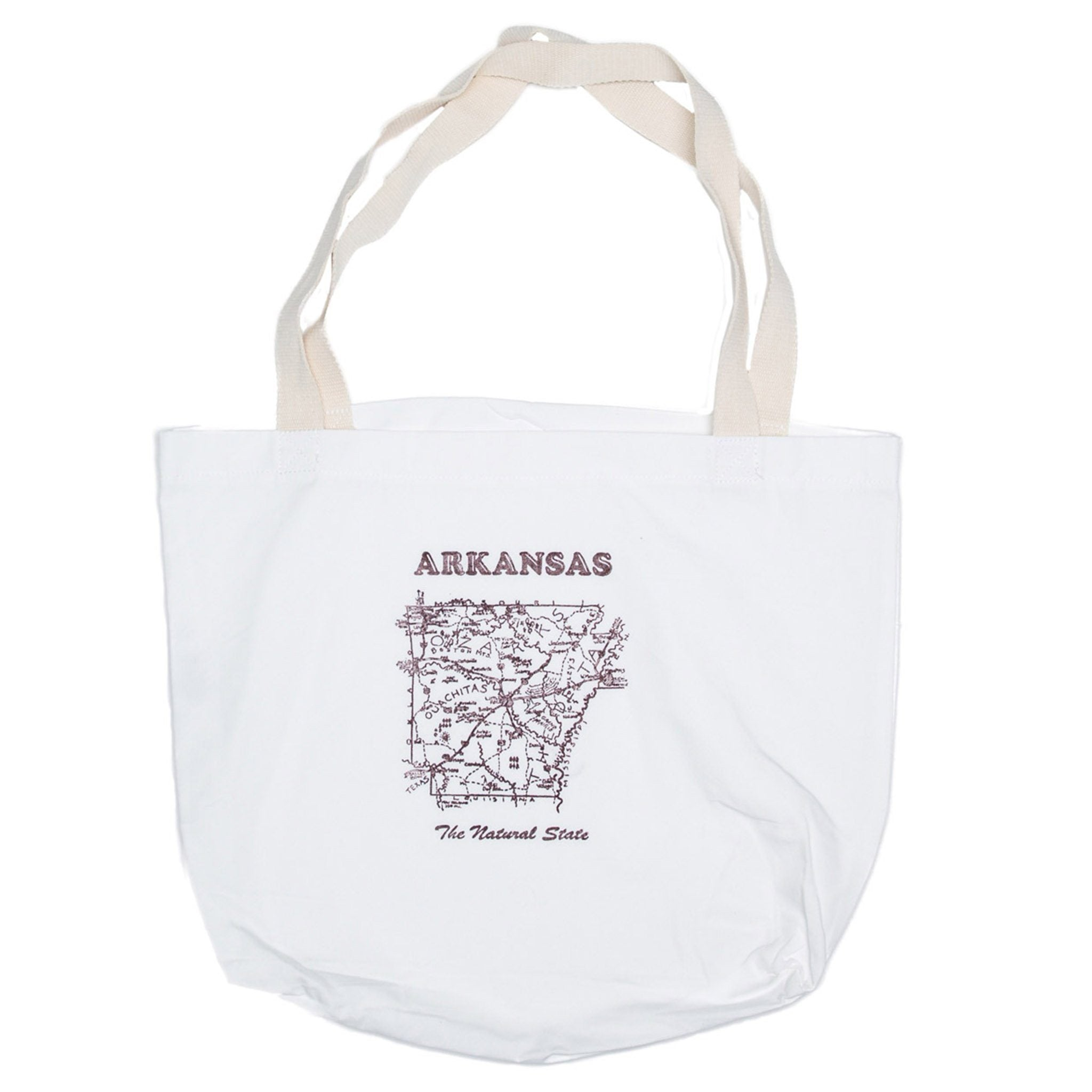 arkansas map tote bag. arkansas map tote bag – fayettechill clothing company