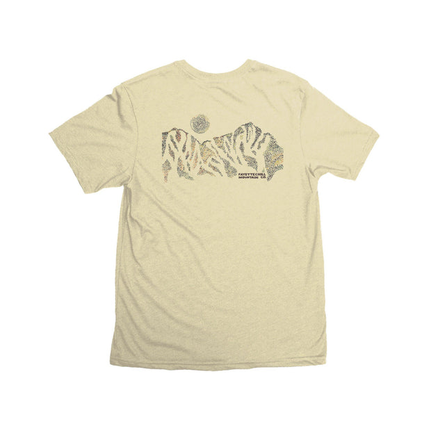 Trailhead Unisex T-Shirt FAY Yellow Sand XS