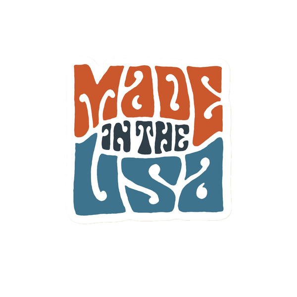 Made in USA Sticker