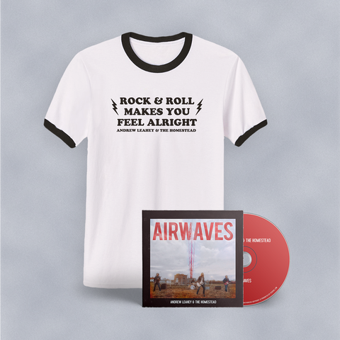 """Rock & Roll"" T-Shirt + CD Bundle"