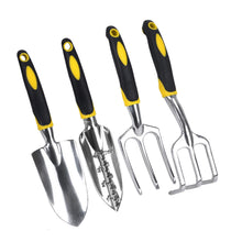 Load image into Gallery viewer, Garden Tools Set Gardening Gifts Tool Set with Trowel Cultivator and Transplanter