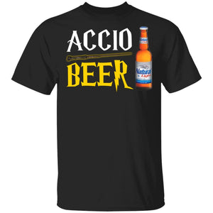 Accio Beer Natural Light T-shirt Harry Potter Tee MT01-Bounce Tee