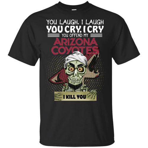 Achmed You Offend My Arizona Coyotes I Kill You T-Shirt Hockey-Thebouncetee.com