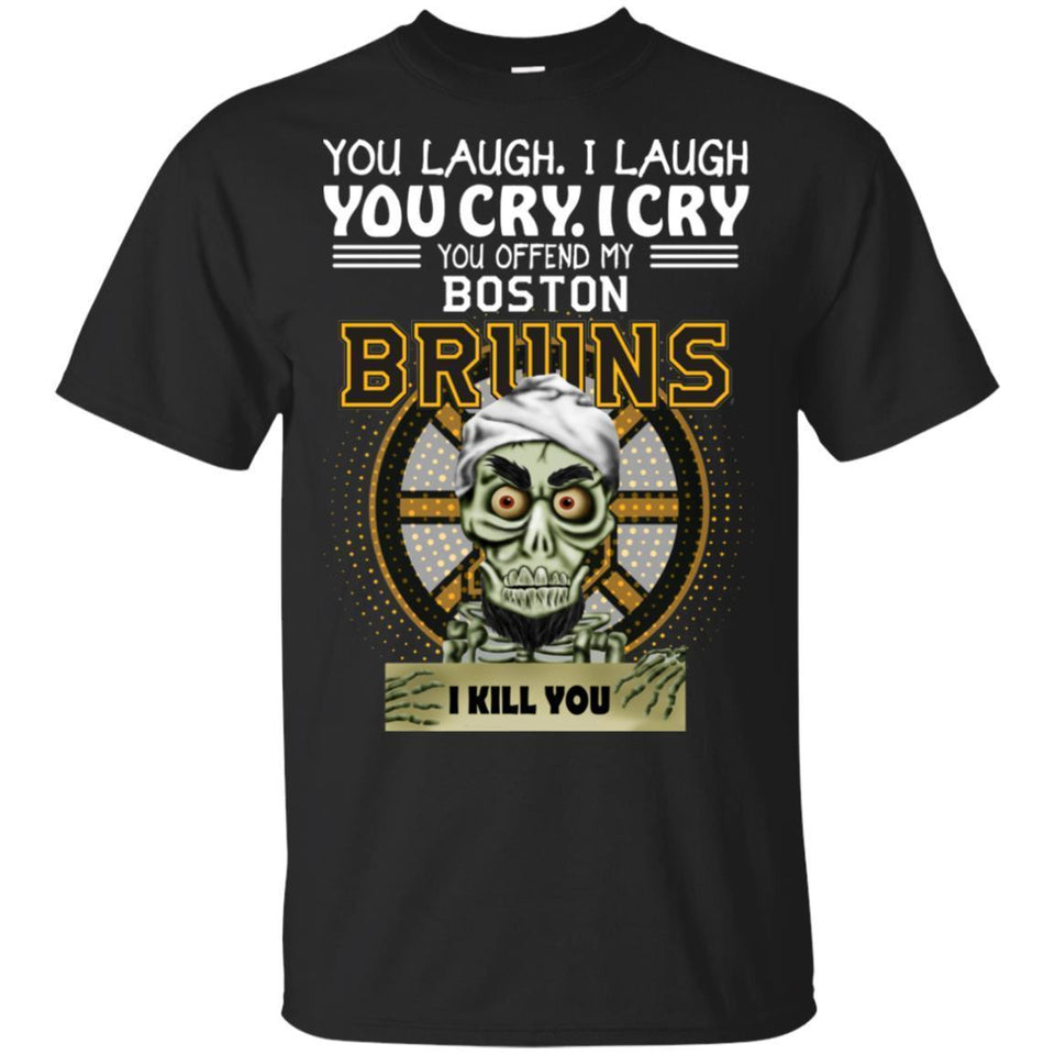 Achmed You Offend My Boston Bruins I Kill You T-Shirt Hockey-Thebouncetee.com