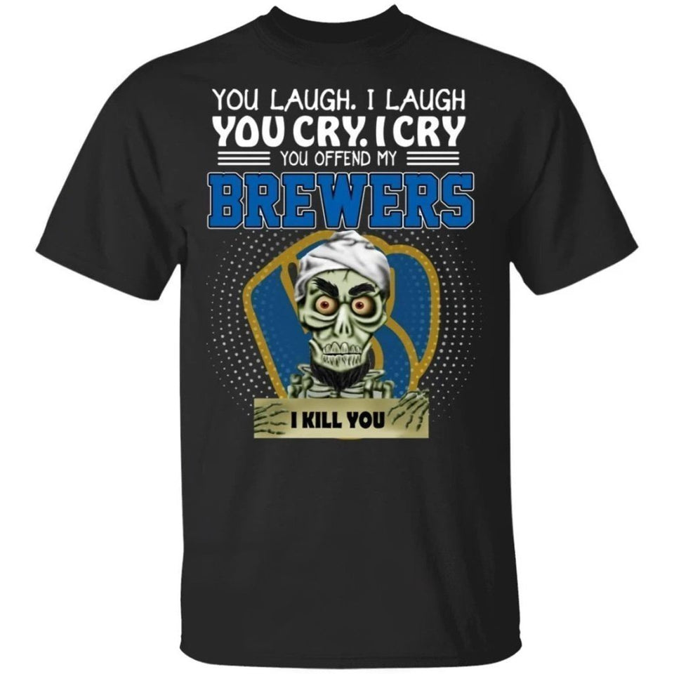 Achmed You Offend My Brewers I Kill You T-Shirt-Bounce Tee