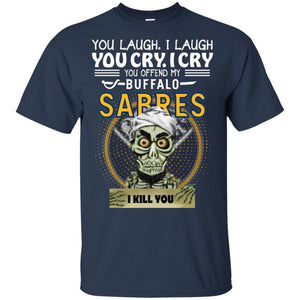 Achmed You Offend My Buffalo Sabres I Kill You T-Shirt Hockey-Thebouncetee.com
