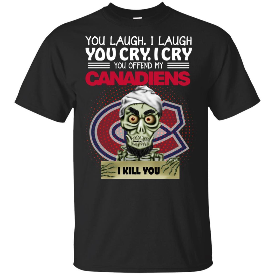 Achmed You Offend My Canadiens I Kill You T-Shirt Hockey-Thebouncetee.com
