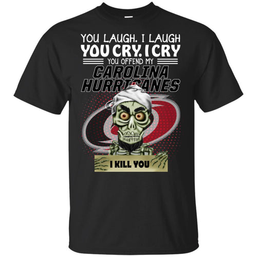 Achmed You Offend My Carolina Hurricanes I Kill You T-Shirt Hockey-Thebouncetee.com