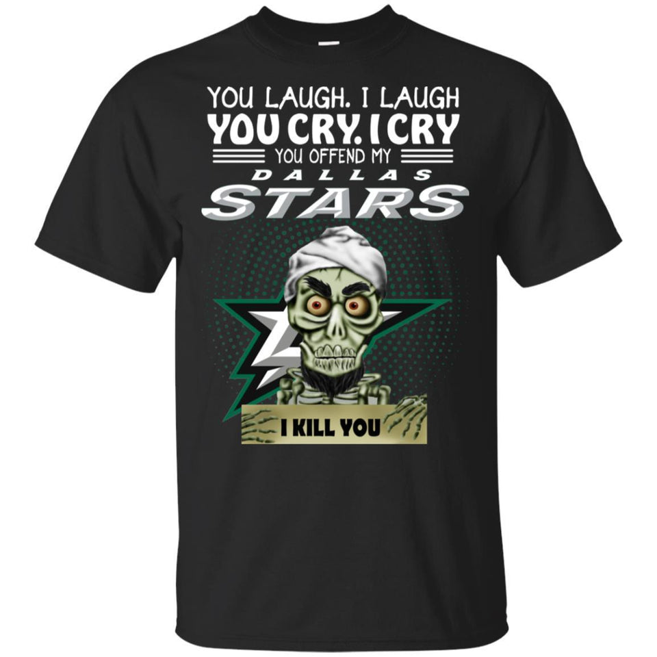 Achmed You Offend My Dallas Stars I Kill You Hockey T-Shirt-Thebouncetee.com