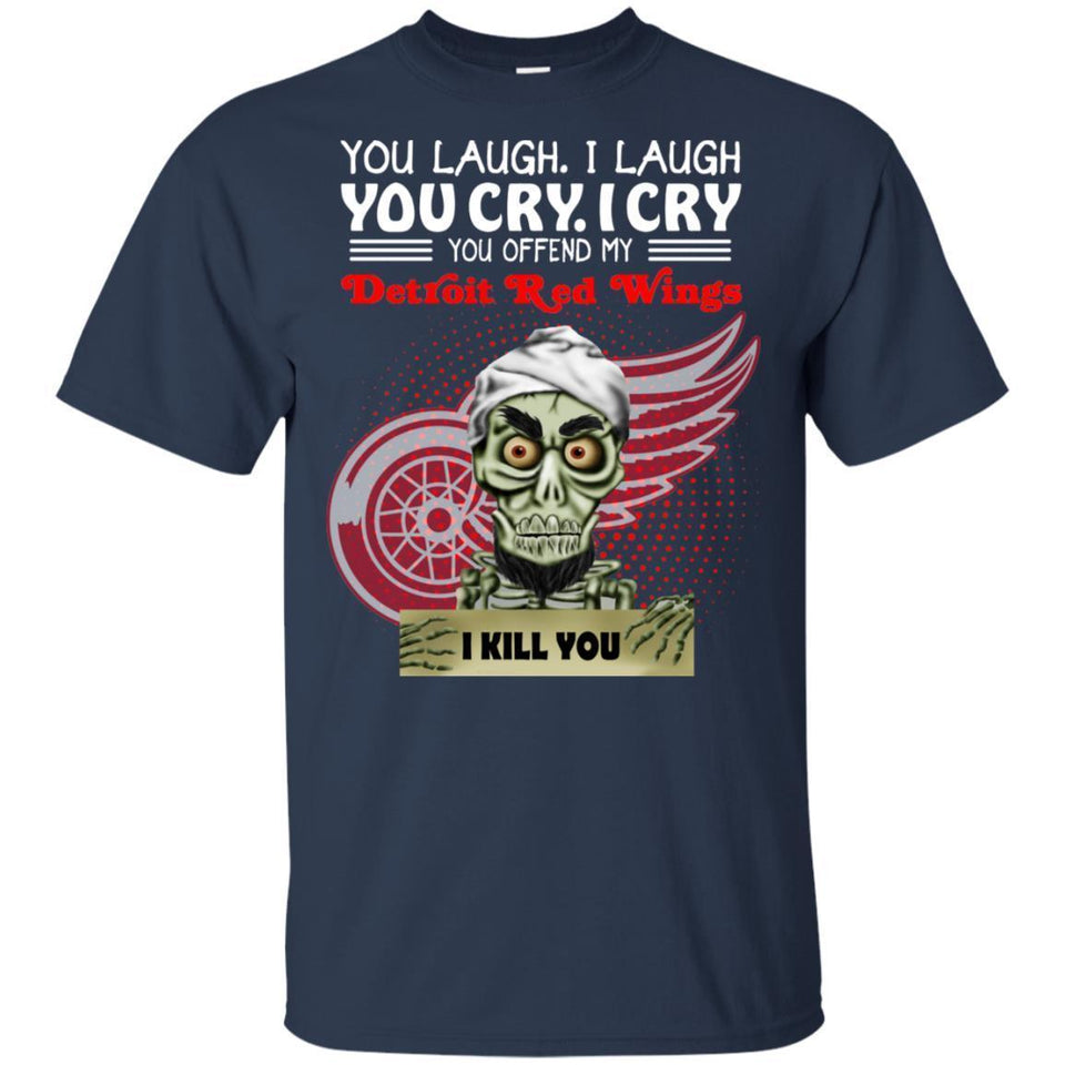 Achmed You Offend My Detroit Red Wings I Kill You T-Shirt Hockey-Thebouncetee.com