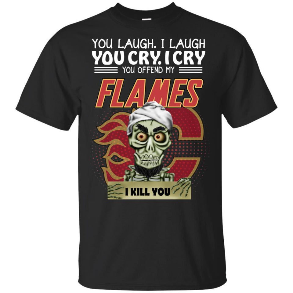 Achmed You Offend My Flames I Kill You T-Shirt Hockey-Thebouncetee.com