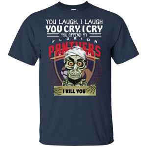 Achmed You Offend My Florida Panthers I Kill You T-Shirt Hockey-Thebouncetee.com