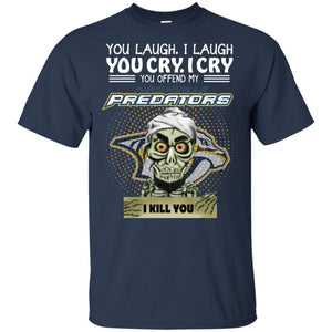 Achmed You Offend My Nashville Predators I Kill You T-Shirt Hockey-Thebouncetee.com