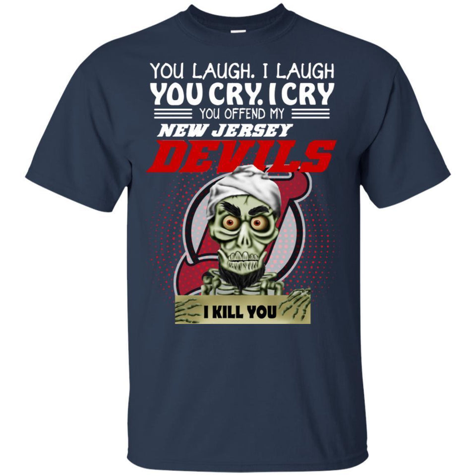 Achmed You Offend My New Jersey Devils I Kill You T-Shirt Hockey-Thebouncetee.com