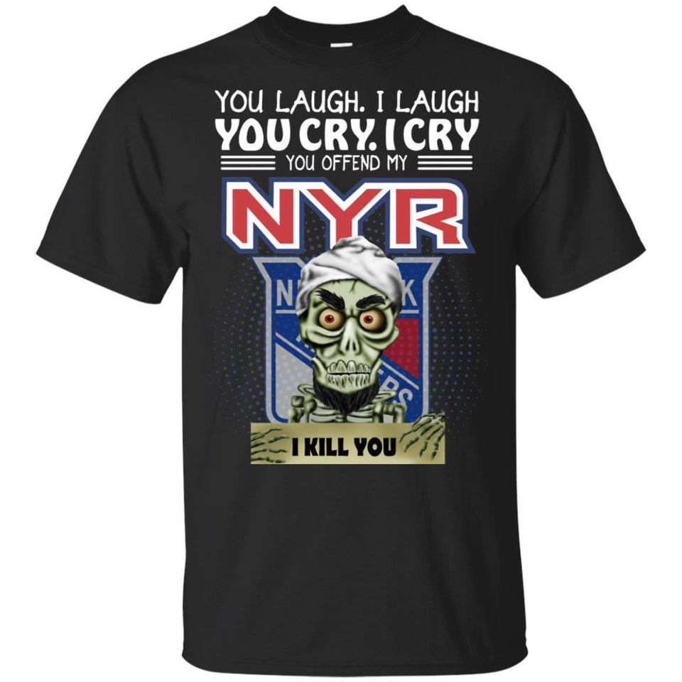 Achmed You Offend My New York Rangers I Kill You T-Shirt Hockey-Thebouncetee.com