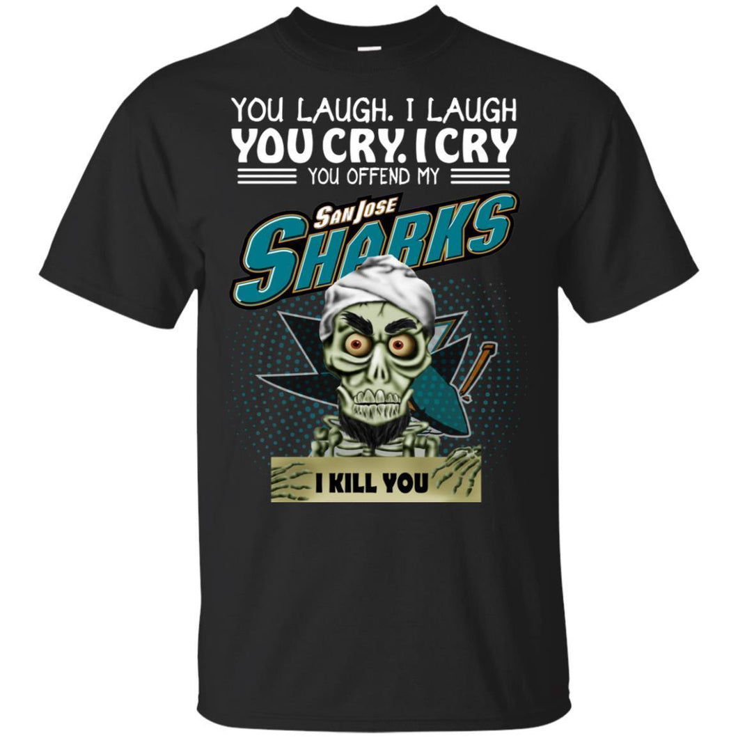 Achmed You Offend My Sanjose Sharks I Kill You T-Shirt Hockey-Thebouncetee.com