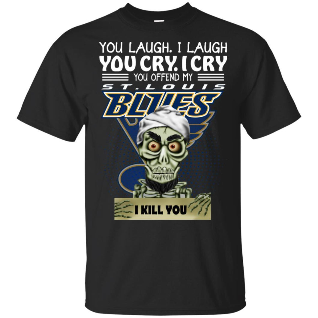 Achmed You Offend My St.Louis Blues I Kill You T-Shirt Hockey-Thebouncetee.com