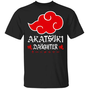 Akatsuki Daughter Shirt Naruto Red Cloud Family Tee-Bounce Tee