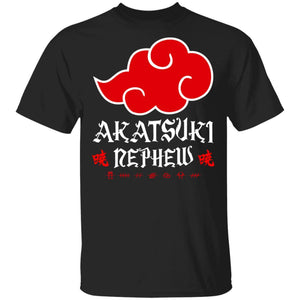 Akatsuki Nephew Shirt Naruto Red Cloud Family Tee-Bounce Tee