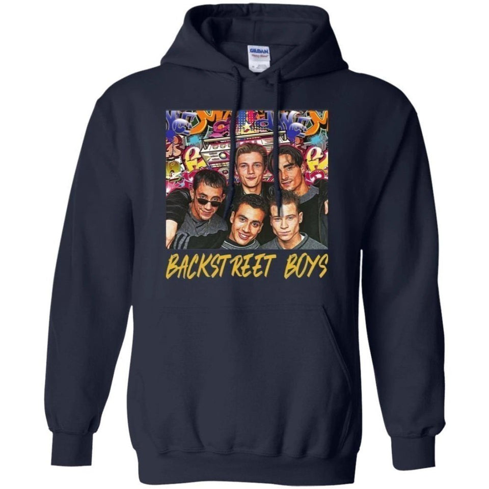 Backstreet Boys Vintage 90s Band Anniversary Hoodie Fan Gift Idea-Bounce Tee
