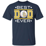 Best Dad Ever San Diego Padres T-Shirt For Dad-Bounce Tee