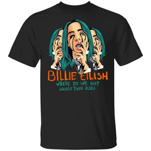 Billie Eilish Where Do We Go World Tour 2020 2-Sided T-shirt MT03-Bounce Tee