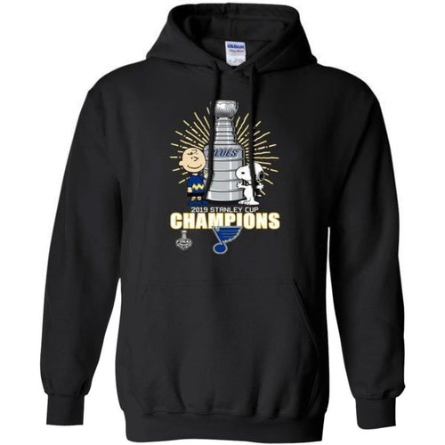 Blues Stanley Cup Snoopy And Peanut Hoodie VA06-Bounce Tee
