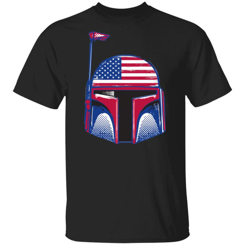 Boba Fett 4th Of July T-shirt Patriot Tee MT05-Bounce Tee